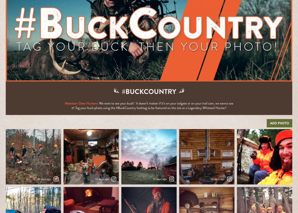 visual commerce legendary whitetails