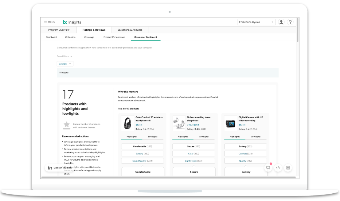 Insights dashboard picture